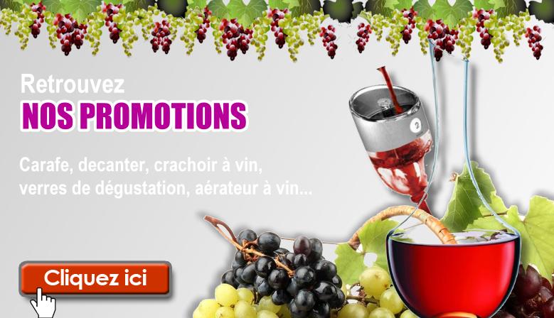 Promotion - accessoires vin