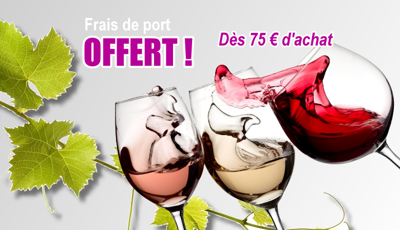 Frais de port - Accessoires pour le vin